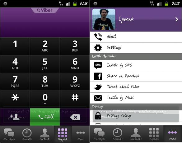 how to call with viber from serbia